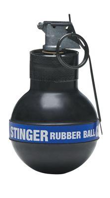 Stinger rubber ball grenade