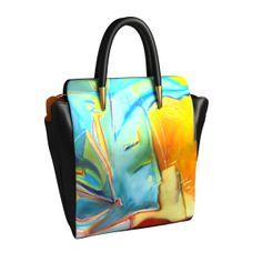 Cathrine #design arts2be #handbag with Marie-Christine Thiercelin #artist