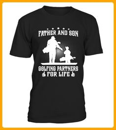 Father And Son Golfing Partners For Life - Shirts für onkel (*Partner-Link)