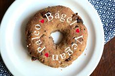 Paleo Bagel - Starch Free, Vegan, Recipe @bettyrawker Low Carb Bagels, Low Carb Bread, Paleo Bread, Easy Bread, Starch Free Recipe, Yeast Free Recipes, Paleo Recipes, Cinnamon Raisin Bagel, Grain Free Bread