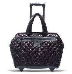 0f3233cc3e07 Chanel Coco Cocoon: Quilted Trolley. Coco ChanelChanel BlackChanel  LuggageLuggage BagsChanel ToteChanel HandbagsPurses ...