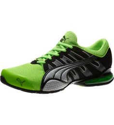 info for b59db cd1a4 Voltaic III NM Running Shoes, FLUO GREEN-black-dark shadow-puma silver   I ve got these  )