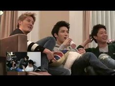 Jaejoong and Yoochun never get tired trolling their member Junsu. And Junsu is always positive person. Love his laugh.