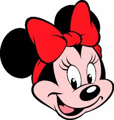 minnie-decoupage-imagem   O nariz e o sorriso são muito parecidos com o meu, tu percebestes ?