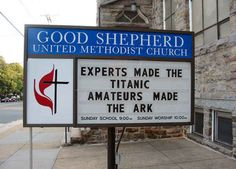 Let that sink in. | 25 Church Signs That Are Too Clever For Their Own Good