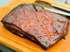 Grilling: Smoked Pork Belly Marinated in Char Siu Sauce | Serious Eats : Recipes