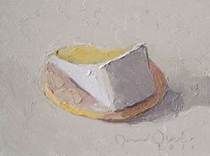 The Very Small Paintings of David Oleski: Cheese and a Cracker