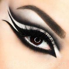 male cat eye makeup - Google Search