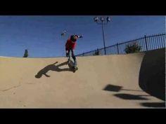 O skatista cego que supera seus limites todo dia