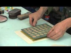 Japanese Woodblock printing at Edinburgh Printmakers - https://www.youtube.com/watch?v=KtqQCoUx564