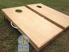 SALE Plain Jane DIY Cornhole Board Set with Standard by WGCornhole
