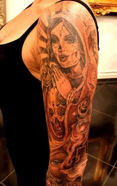 mexican skull tattoos on pinterest skull tattoos sugar skull tattoos and mexican tattoo. Black Bedroom Furniture Sets. Home Design Ideas