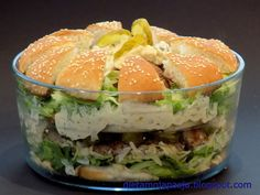 Big Mac, Fresh Rolls, Salmon Burgers, Salads, Appetizers, Cooking Recipes, Lunch, Kos, Ethnic Recipes