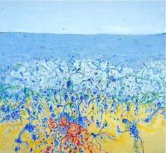"""John Olsen """"Popping Blue Bottles"""" from Etching House"""