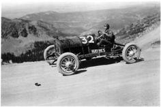 Pikes Peak Hill Climb ~ 1921 Sports Car Racing, Auto Racing, Race Cars, Vintage Auto, Vintage Race Car, Hill Climb Racing, Pikes Peak, Ford Models, Car Photos