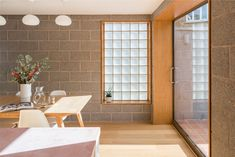 Image 1 of 17 from gallery of Block House / nimtim architects. Photograph by French + Tye Glass Blocks Wall, Block Wall, Victorian Terrace House, Victorian Homes, Beautiful Kitchen Designs, Beautiful Kitchens, Architecture Today, Interior Architecture, Interior Design