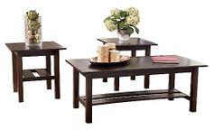 Lewis - Assortiment de tables d'appoint
