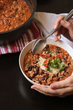 Fresh jalapenos give heat and flavor to this simple chili that comes together in 30 minutes or less. Enjoy Jalapeno Chili for an easy weeknight dinner.