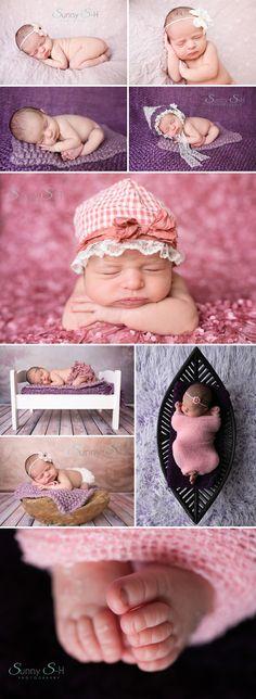 10 day old baby girl - Winnipeg Newborn Photography - www.sunnys-hphotography.com