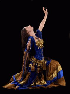Velvet Peacock Designs Belly Dance Costume