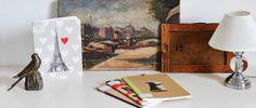 Cuaderno de escritura Monsieur Eiffel en Ottoyanna. #cuaderno #libreta #carnets #cahiers #papeleria #notebook