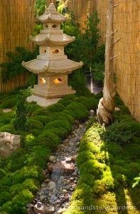 Temple in the moss