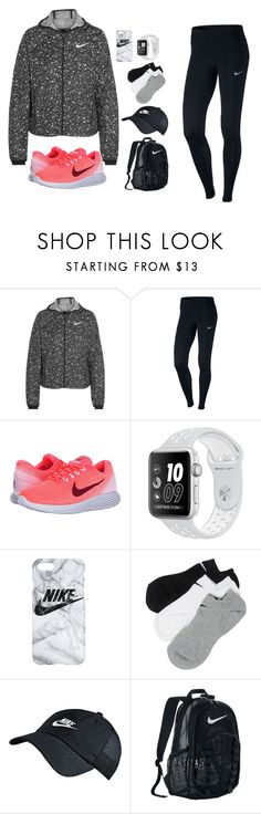 """Nike"" by alishabbarton on Polyvore featuring NIKE"