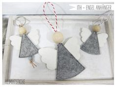 Home stitches - simple & beautiful - ITH angel pendant in 2 sizes ❤ simple . Embroidery Designs, Embroidery Motifs, Types Of Embroidery, Embroidery Files, Machine Embroidery, Christmas Tree Decorations, Christmas Crafts, Christmas Ornaments, Burlap Christmas Stockings