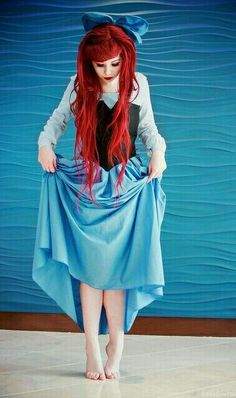 Ariel the little mermaid costume / cosplay Disney Cosplay, Ariel Cosplay, Cosplay Girls, Cosplay Anime, Ariel Costumes, Cool Costumes, Costume Ideas, Pocahontas Costume, Woman Costumes