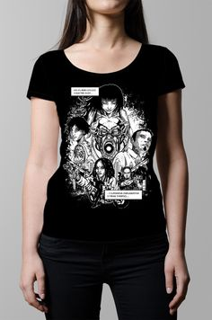 The fourth Luke Molver Neroverse graphic novel design for the Tshirt Terrorist Signature Series designer range of t-shirts by graphic designers