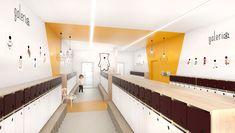 NOWOCZESNE WNĘTRZE PRZEDSZKOLA Daycare Design, Loft, Bed, Furniture, Home Decor, Decoration Home, Stream Bed, Room Decor, Lofts