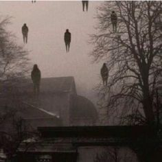 Creepy.... Mass alien abduction?
