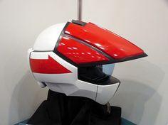 """Helmet based on the """"Robotech/Macross"""" anime series."""
