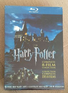 NEW Blu-Ray Harry Potter Complete 8-Film Collection (8-Disc Set BLU-RAY, 2011) | DVDs & Movies, DVDs & Blu-ray Discs | eBay!