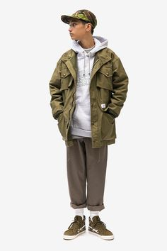 WTAPS SS19 Collection Blends Military Garb With Streetwear Staples