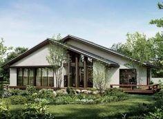 「二階建てに見えない平屋風な家」の画像検索結果