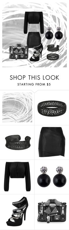 """Dark Soul"" by eguttenberg ❤ liked on Polyvore featuring Art Addiction, River Island and Moschino"