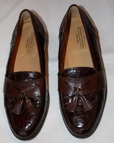 Vintage Men's Loafers by Johnston & Murphy by ilovevintagestuff