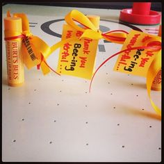 Burt's Bees Chapstick with the catchy phrase for a cute ...