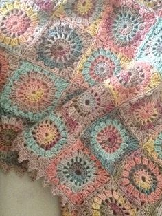 Ravelry: Dune Shawl English Version pattern by Eclectic Gipsyland