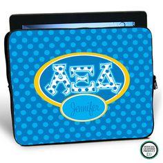 Alpha Xi Delta iPad Sleeve