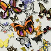 Christian Lacroix behang, Butterfly parade multicolore