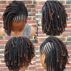 two strand twist natural hair protective style - Natural Hair Styles Natural Hairstyles For Kids, Kids Braided Hairstyles, Protective Hairstyles, Afro Hairstyles, Black Hairstyles, Natural Hair Styles Protective, Ladies Hairstyles, Corn Row Hairstyles, Natural Cornrow Hairstyles