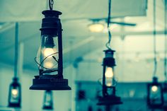 Vintage lamps by Love Silhouette on @creativemarket