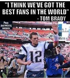 And we have the best QB!!! ♥