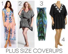 Plus size swimsuit coverups