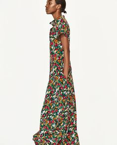 Image 3 of FLORAL PRINT DRESS from Zara
