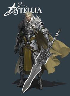 ArtStation - Warrior, BONG GU LEE
