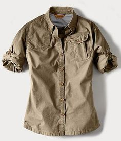 I want this shooting shirt! - Eddie Bauer