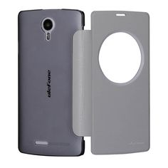 View Window PU Leather Protective Case For Ulefone Be Pure